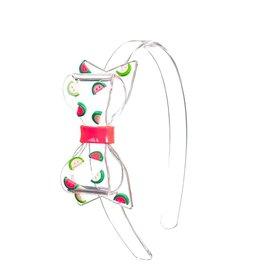 Lillies&Roses Fat Bow Headband Watermelon