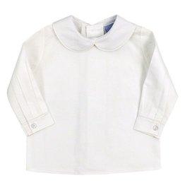 The Bailey Boys Ivory Boys Piped Shirt