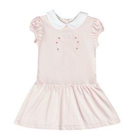 LullabySet Emily Dropwaist Dress, Candy Cane Wishes