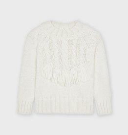 Mayoral Braided Sweater Crudo 4374