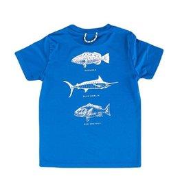 Prodoh Fish Legends Daphne Blue Perfomance S/S Tee