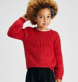 Mayoral Red  Sweater 4372
