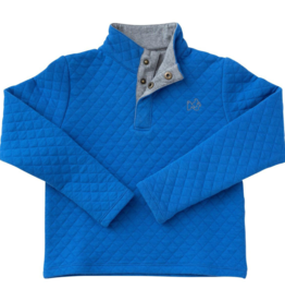 Prodoh Boys Quilted Snap Pullover Sweatshirt
