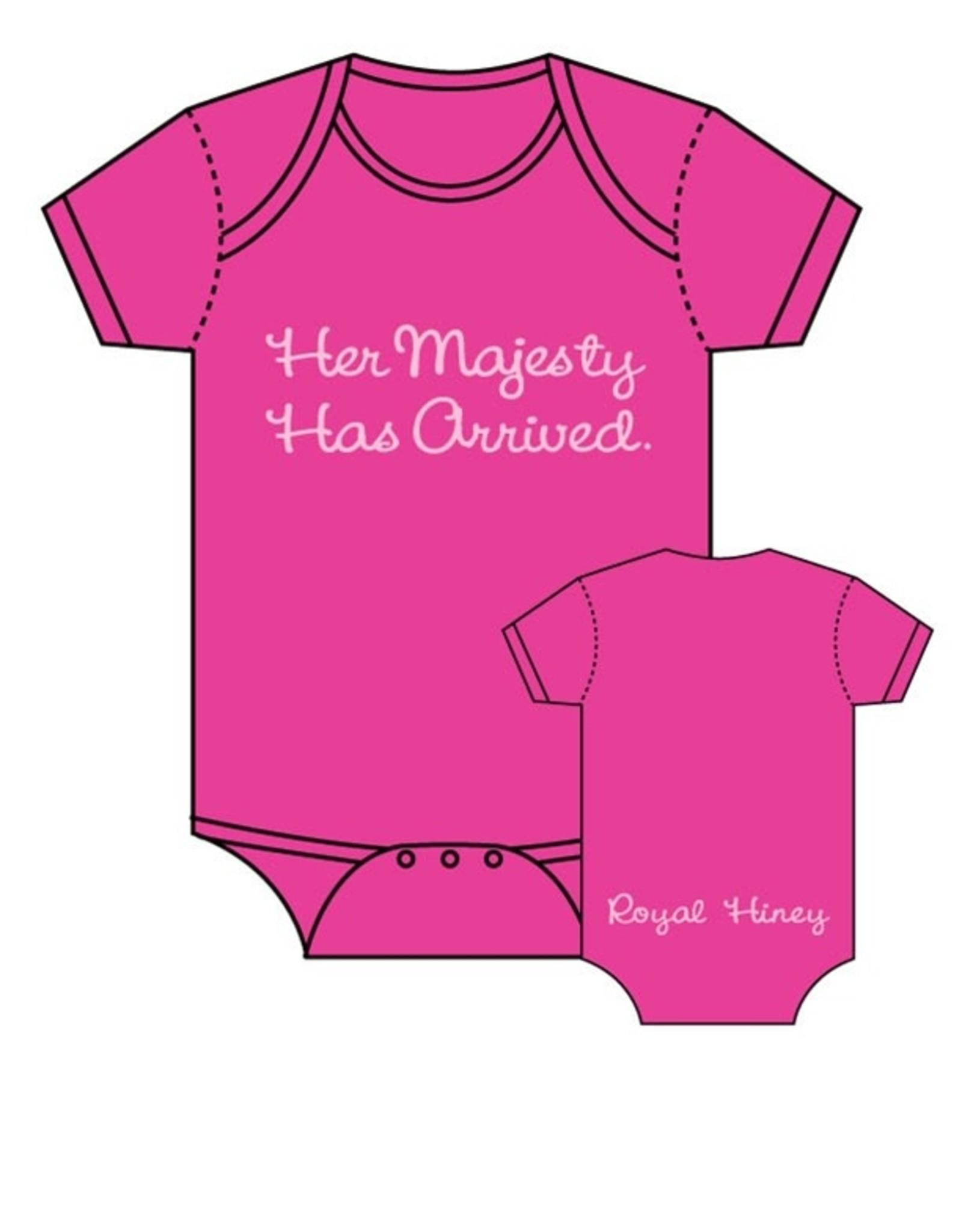 Sara Kety Onesie Her Majesty 6-12 Months Hot Pink