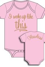 Sara Kety Onesie Flawless 12-18 Months Pink