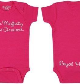 Sara Kety Onesie Her Majesty 12-18 Months Hot Pink