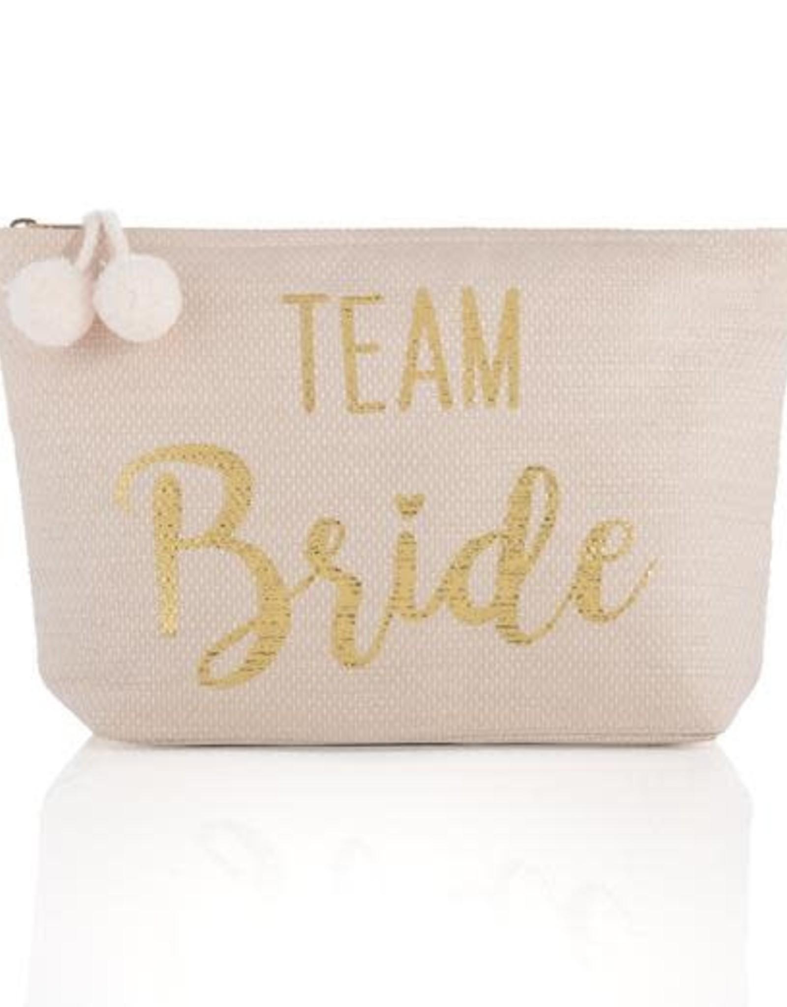 Team Bride Zip Pouch