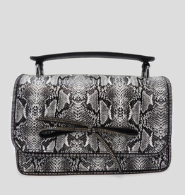 A Touch of Style 6160 Snake Crossbody