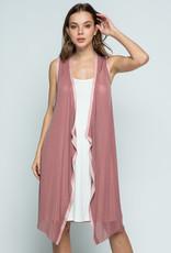 Vocal 6170 Sparkle Rose Vest