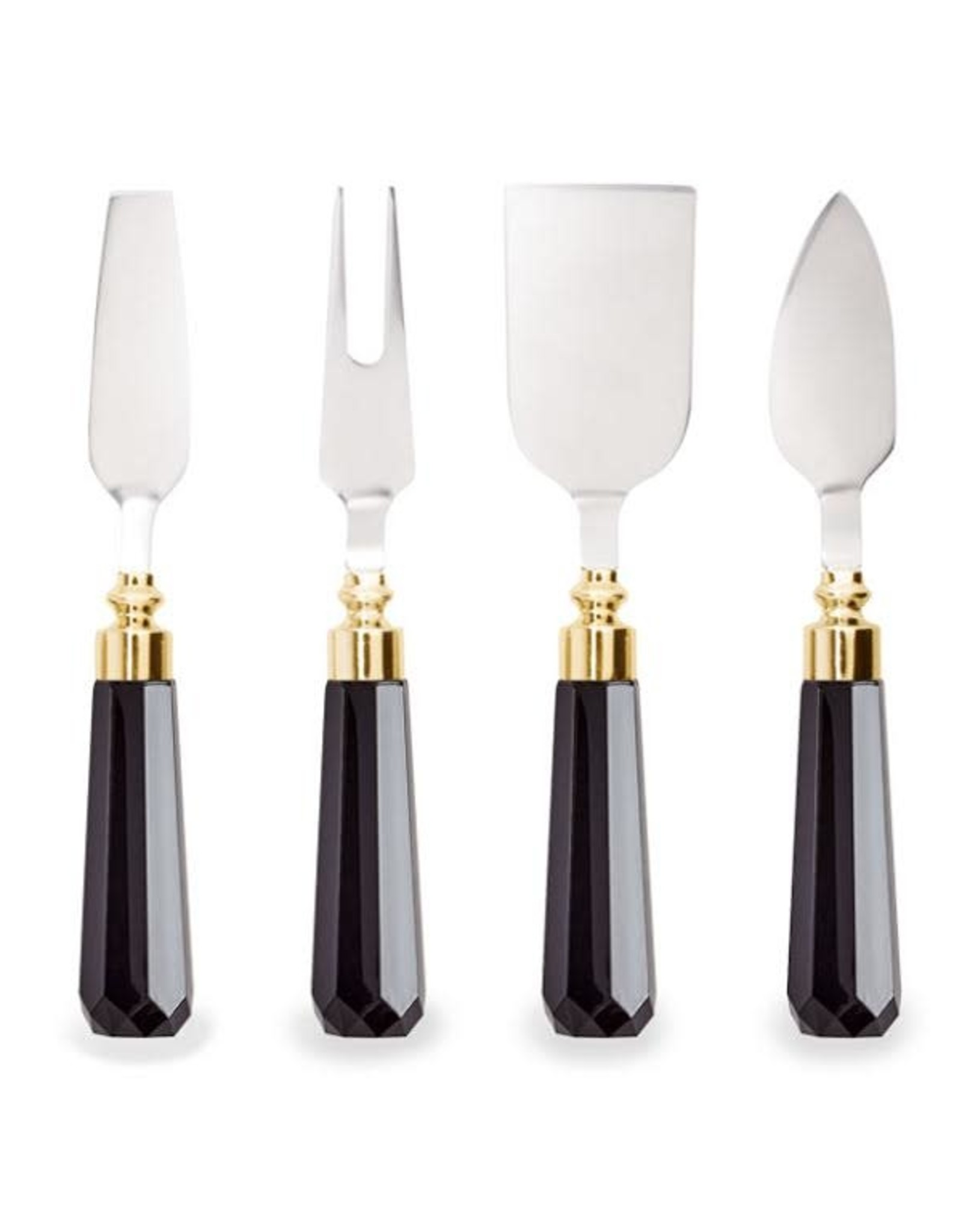 Wild Eye Cheese Knives Art Deco