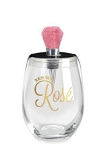 Wild Eye Wine Glass Stopper Set Yes Way Rose