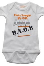 Sara Kety Onesie BYOB 12-18 Months Wht