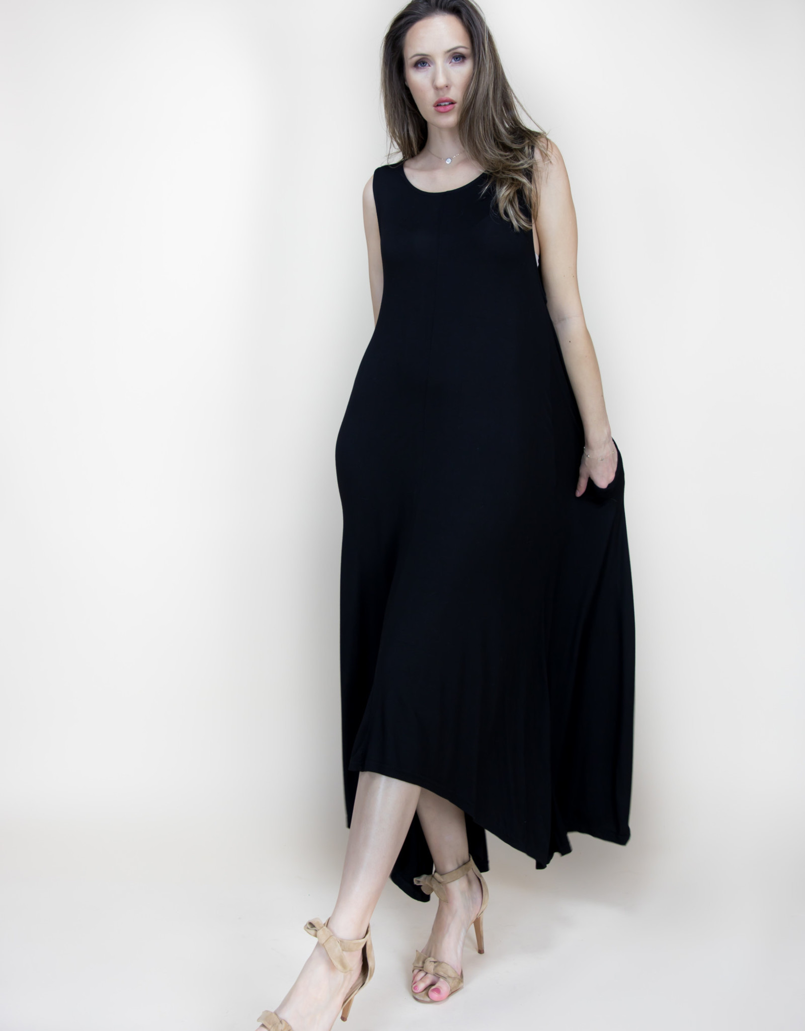 Harem Dress Black