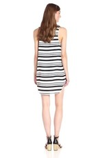 BB Dakota Striped Scoop Neck Tank Dress