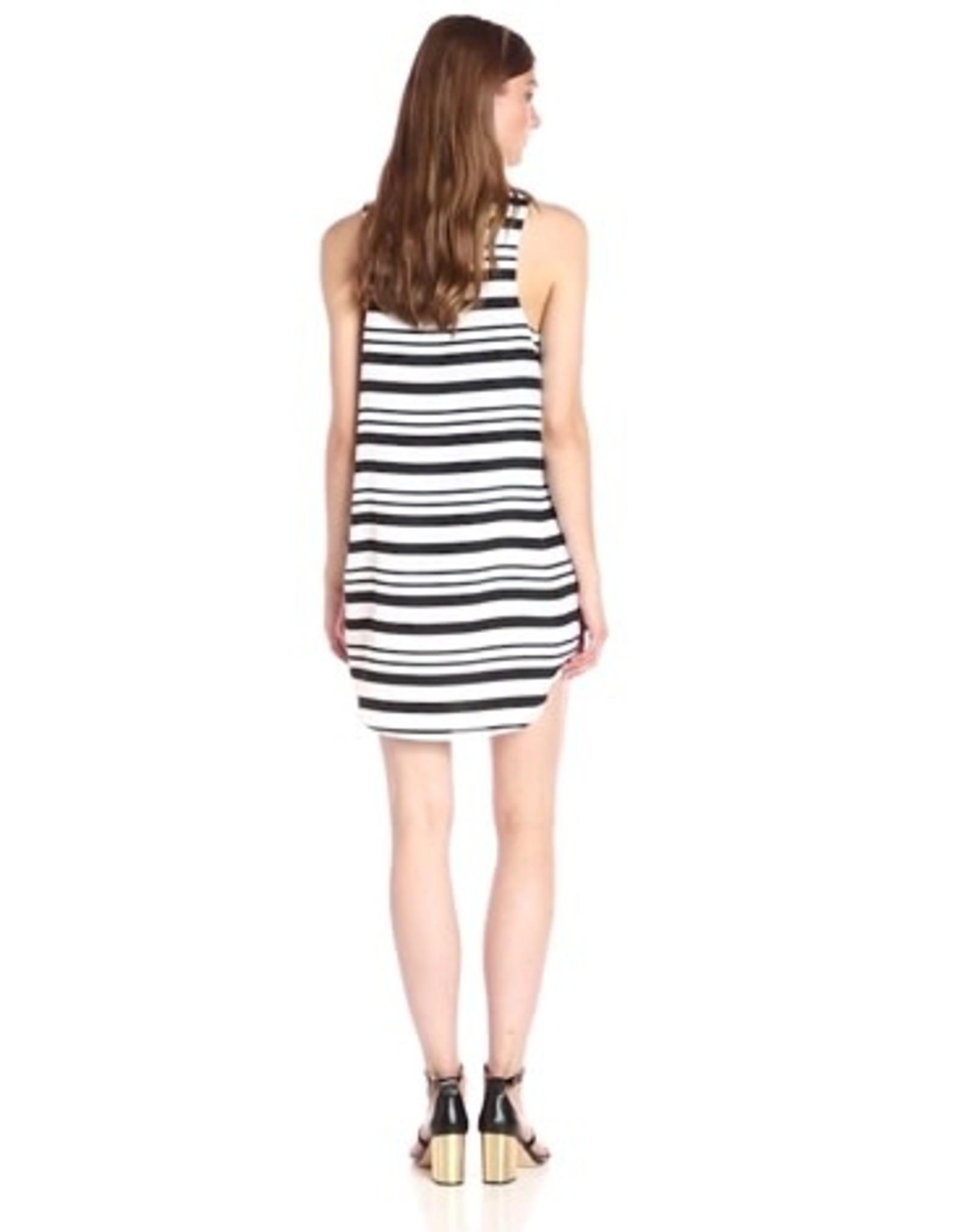 Striped Scoop Neck Tank Dress