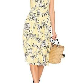 BB Dakota Yellow Floral Dress