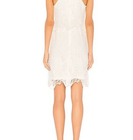 BB Dakota White Bodycon Lace Dress