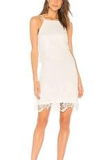 BB Dakota White Bodycon Lace Dress