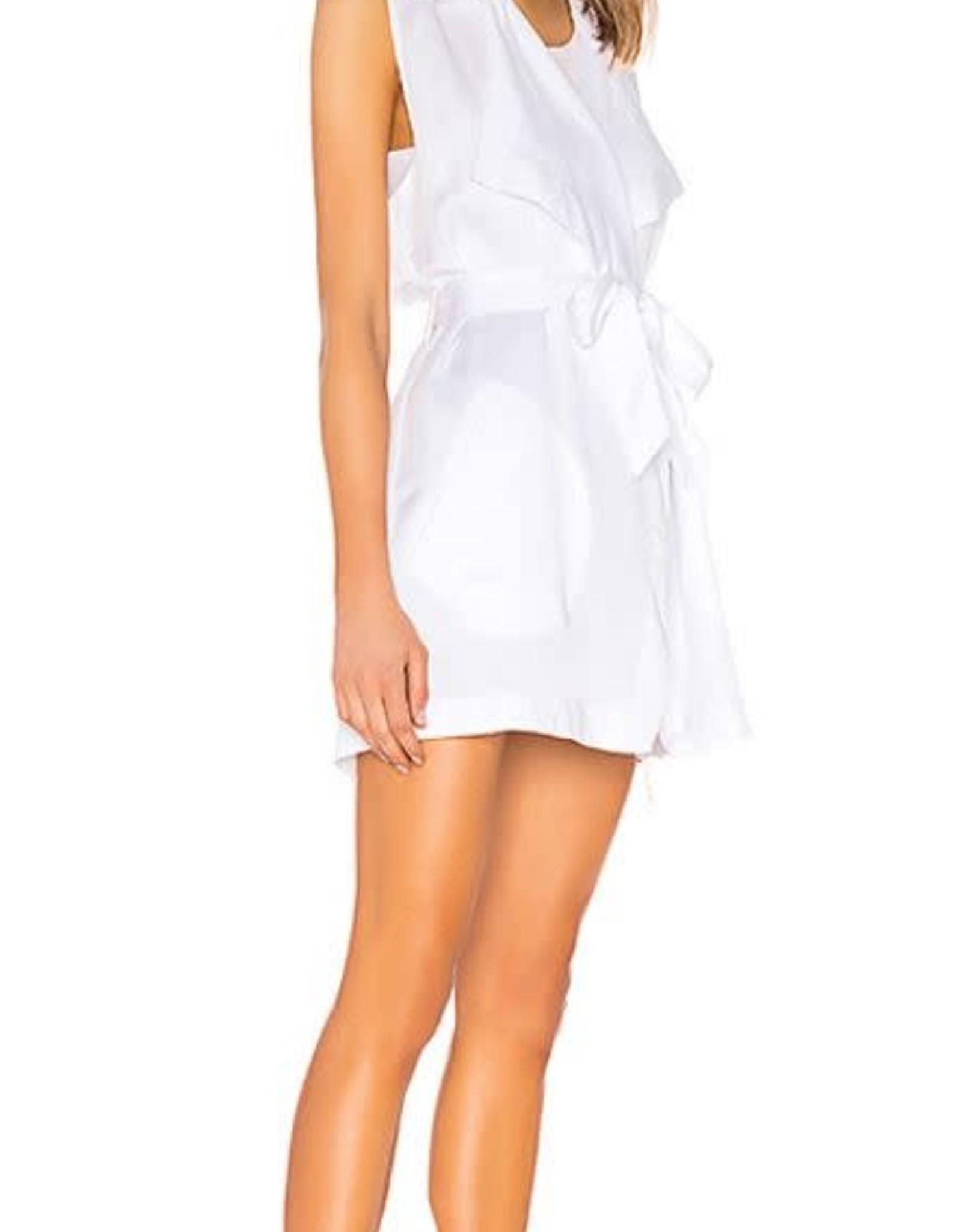 Wrap Vest White