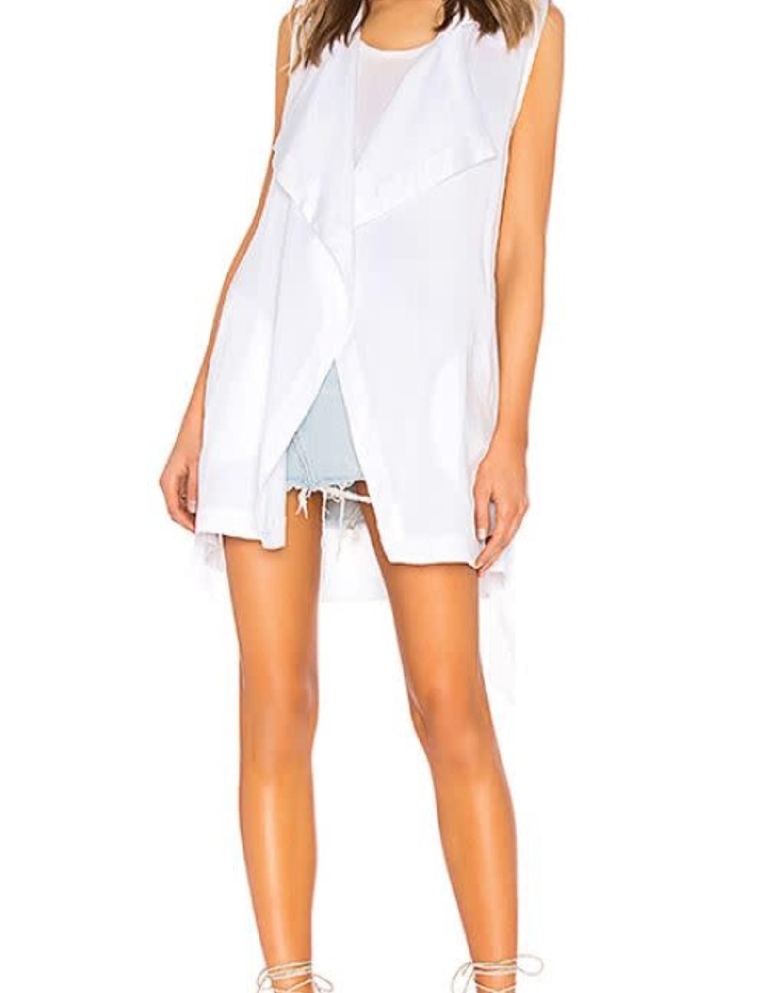 BB Dakota Wrap Vest White