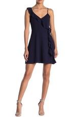 BB Dakota Asymmetric Ruffle Dress