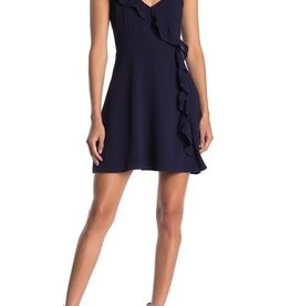 BB Dakota Asymmetric Ruffle Dress