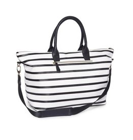Brouk Striped Duffel Bag