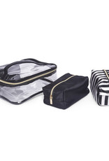 Brouk Clear Cosmetic Bag set
