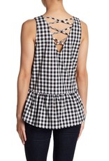 Jack Black Gingham Cross Back
