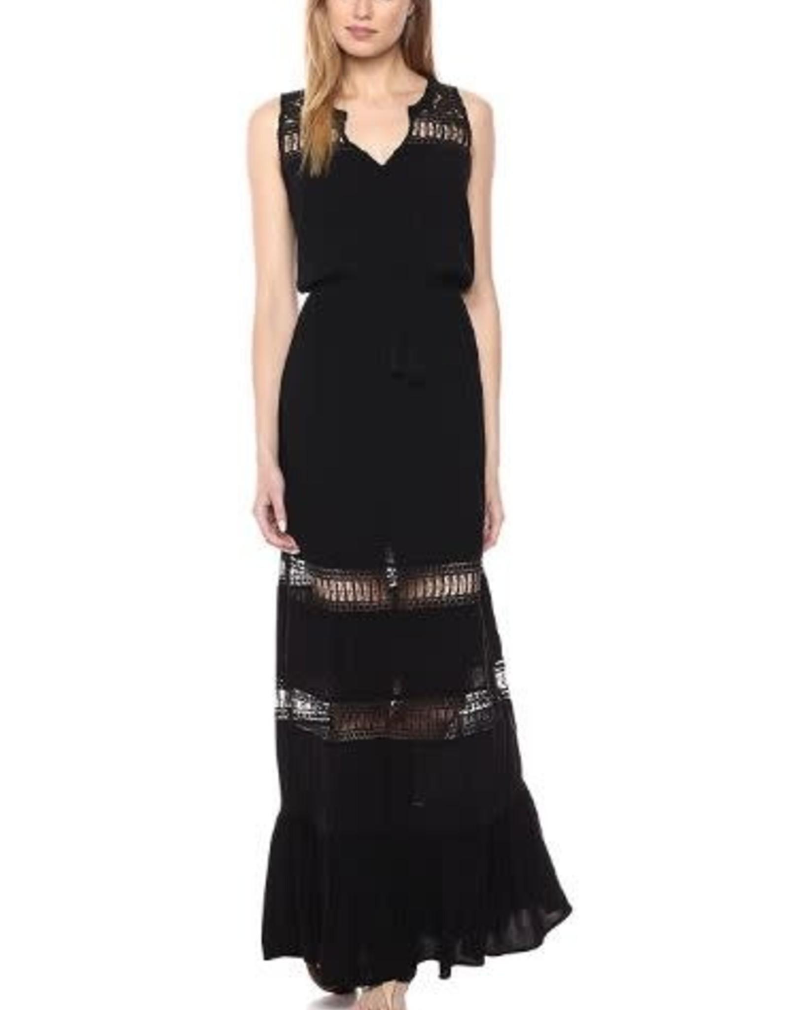 BB Dakota Black Lace Maxi