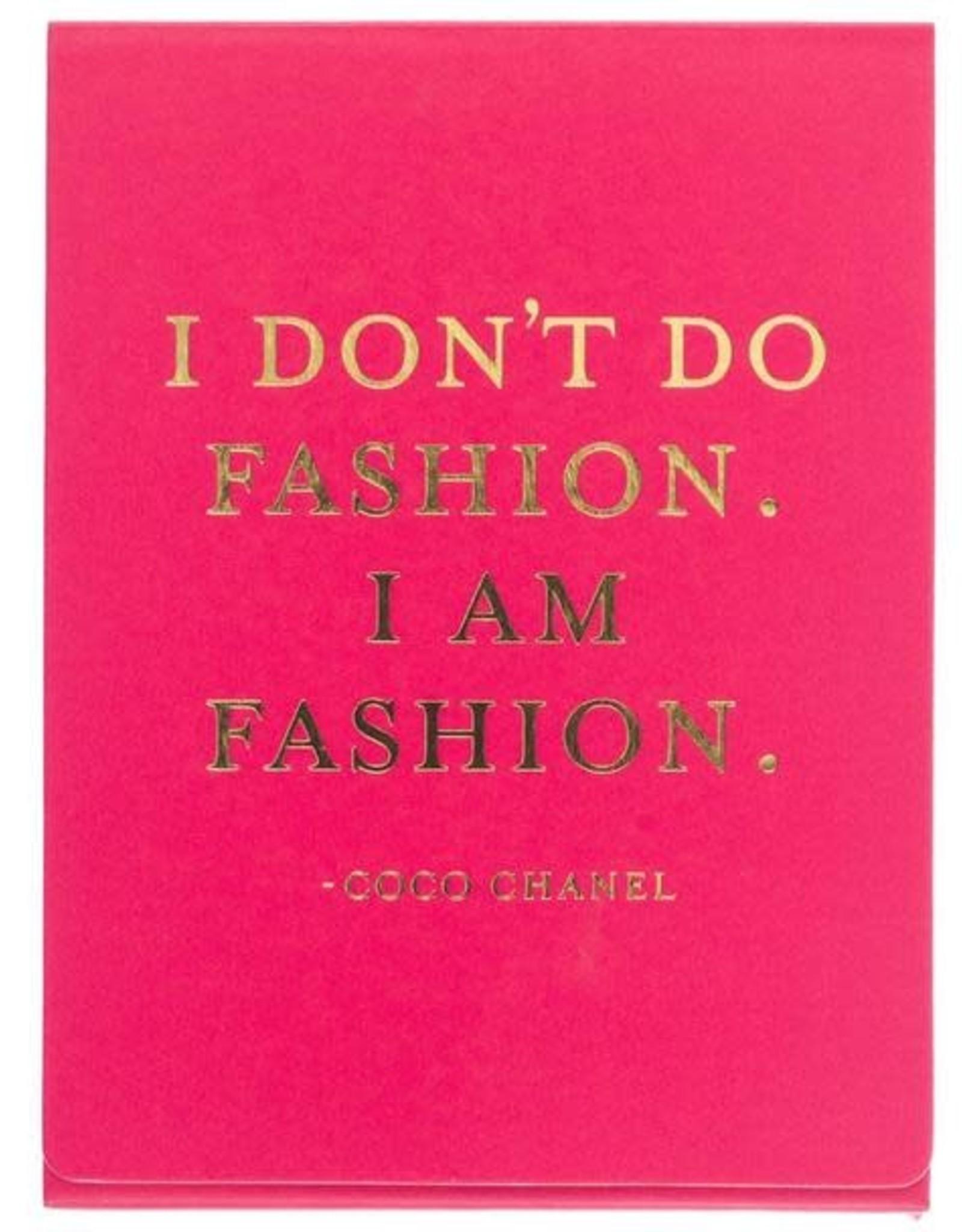 I am Fashion Mini Pad