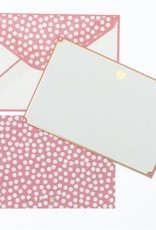 Graphique Gold Foil Heart Thank You Notes
