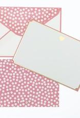 Graphique Gold Foil Heart Thank You Notes