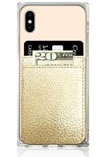 iDecoz Phone Pocket Faux Leather GOLD