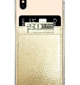 iDecoz Phone Pocket Faux Leather GOLD