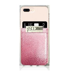 iDecoz Phone Pocket Faux Leather PINK