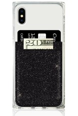 iDecoz Phone Pocket BLACK GLITTER