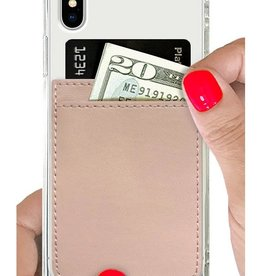 iDecoz Phone Pocket Faux Leather NUDE
