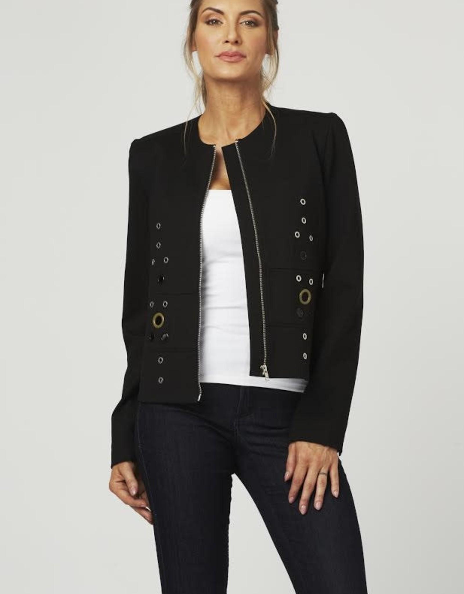 Luii Grommet Zip Jacket