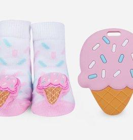 Waddle Ice Cream Teether Gift Set
