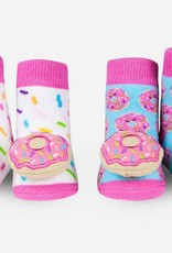 Waddle Donut Rattle Socks