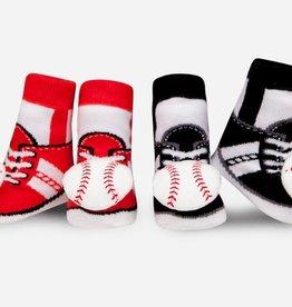 Waddle Baseball Rattle Socks