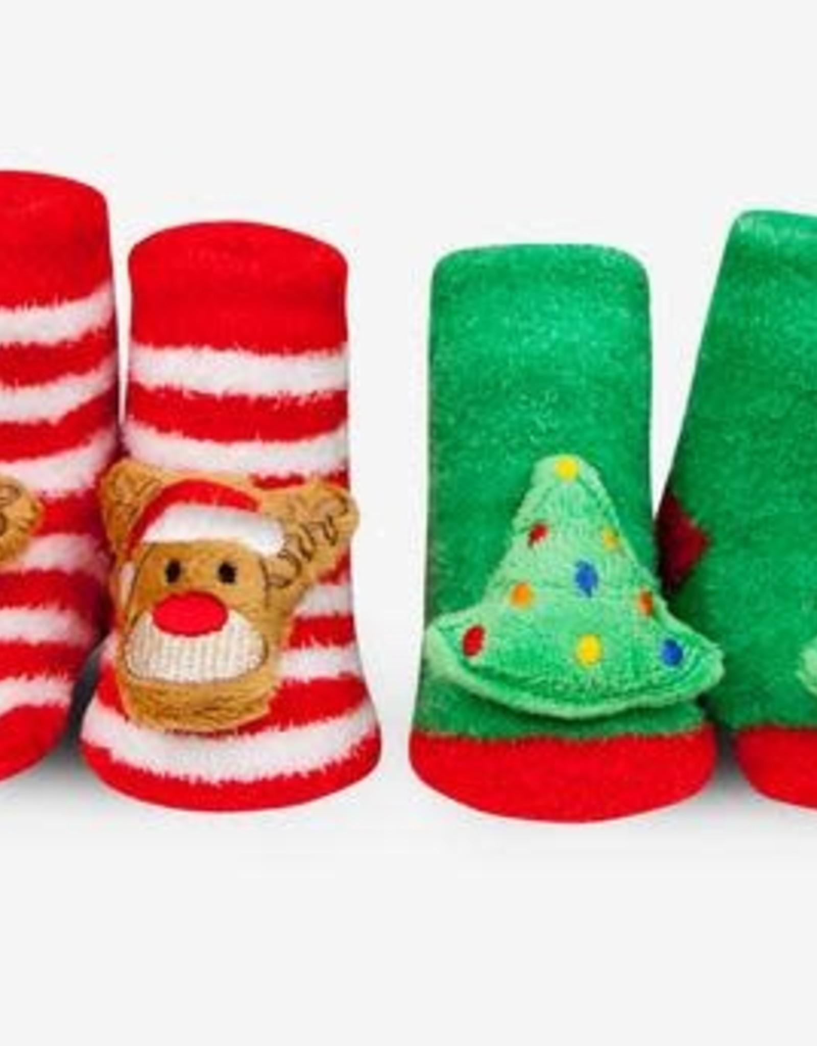 Waddle Holiday Rattle Socks