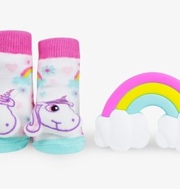 Waddle Unicorn Teether Gift Set