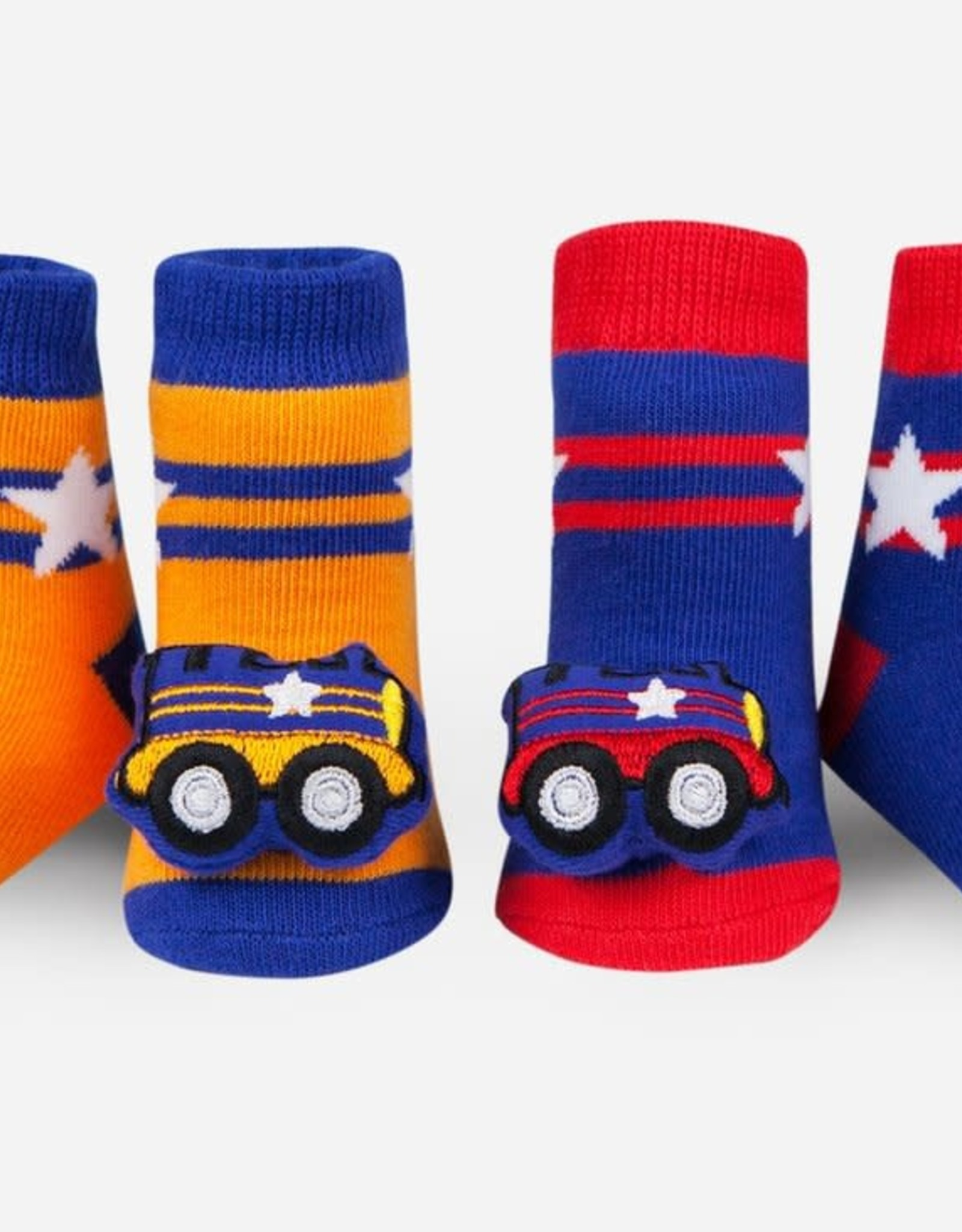 Waddle Train Rattle Socks