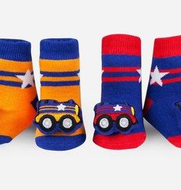 Waddle Train Rattle Socks