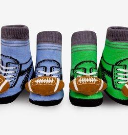 Waddle Football Rattle Socks