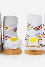Waddle Breakfast Rattle Socks