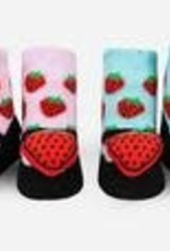 Waddle Strawberry Maryjane Rattle Socks