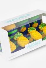 Waddle Pineapple Rattle Socks